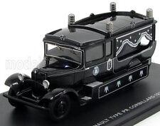 wonderful modelcar RENAULT TYPE PR HEARSE TRUCK 1933 - black - scale  1/43