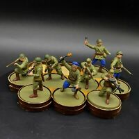 Painted 28mm Bolt Action Soviet Infantry squad #3 Ww2 Wargames factory