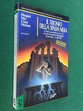 WEIS HICKMAN - IL TRIONFO DELLA SPADA NERA Edgar (1992) Libro DARKSWORD Vol.3