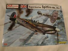 1/72 AZ Model RAF or USAAF Supermarine Spitfire Mk IXc Early Tails # 7392 MIOB