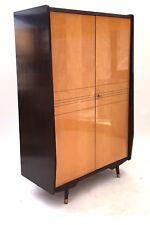 Large Vintage Mid Century Marino Maple & Rosewood Italian 1960s Double Wardrobe