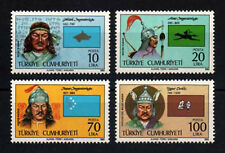 1985 TURKEY  16 TURKISH STATES-2 ROYALTY MILITARY  COMPLETE  SET MNH**