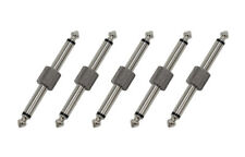 5PCS Sonicake 1/4 inch pedal coupler straight connector for guitar effect pedal