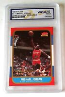 MICHAEL JORDAN 1996 FLEER #U-4 WCG 10 ULTRA DECADE OF EXCELLENCE GEM-MT (D)