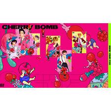 NCT 127 KPOP 3rd Mini NCT #127 [CHERRY BOMB] Album Music CD+Photobook+Photocard