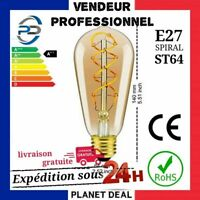 Détails sur   Vintage Filament Edison Ampoule à Variation E27 Décorative Industr