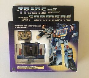 Transformers G1 Vintage Soundwave Complete w/Box 1984