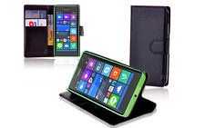 NEW Leather Wallet Case Cover for Nokia Lumia 730 735