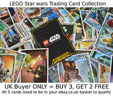 LEGO STAR WARS Series 1 (2018) Trading Card Collection {select} Base/Foil cards