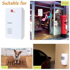 Wireless Motion Sensor Detector Door Gate Entry Bell Chime Alert Alarm Doorbell