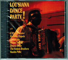 LOUISIANNA DANCE PARTY Queen Ida*Clifton Chenier*Dewey Balfa*Ardoin Rare OOP CD!