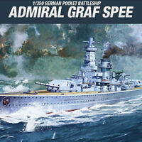 1/350 ADMIRAL GRAF SPEE #14103 ACADEMY HOBBY MODEL KITS
