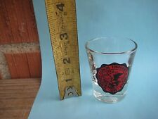 Vintage *** NORTHERN ILLINOIS UNIVERSITY *** Federal Shot Glass USA