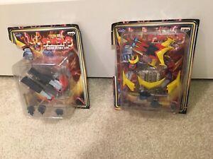 Invincible Super Man Zambot 3 Zambird Zambull Toy Figures Combine Banpresto Rare