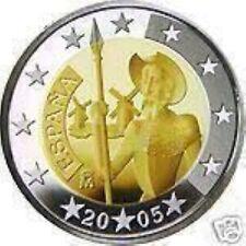Spanje  2005  2 euro commemo    Don Quichot    UNC uit de rol !!!