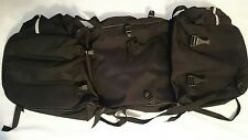 EMK BLACK BICYCLE PANNIERS -COMMUTE /TOURING.