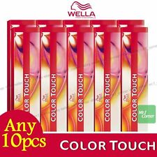 Any 10pcs - Wella Color Touch Semi Permanent Hair Dye 60ml Rich Natural