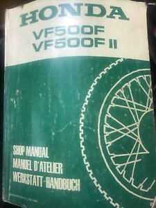 Honda Vf500f Workshop Manual