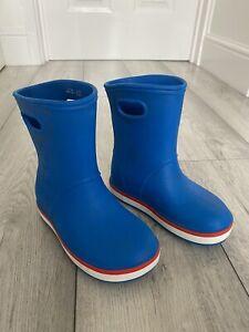 Crocs Wellies Size 12 Blue