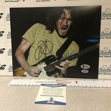 JOHN FRUSCIANTE RED HOT CHILI PEPPERS GUITAR SIGNED 8X10 PHOTO-BECKETT BAS COA
