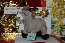 WEBKINZ DONKEY.COMES WITH SEALED/UNUSED CODE/TAG-NICE GIFT