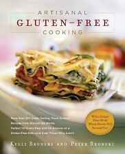 Artisanal Gluten-Free Cooking, Bronski, Kelli^Bronski, Peter, Good Condition, Bo