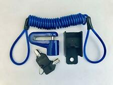 New Disk Lock & Reminder Brake Accessories Minder Cable Reminder for Motorcycle