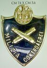 Fascismo MVSN Specialità Milizia Artiglieria Contoraerei scudetto CC.NN.