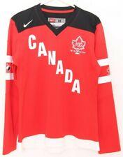 NEW Canada 100 Year Anniversary Red Nike Team Ice Hockey Jersey Women's M
