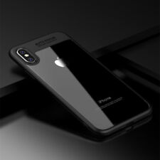 for Apple iPhone 7 8 10 X 6s SE 5 Luxury Ultra Slim Shockproof Bumper Case Cover iPhone 5c Jet Black