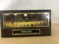 VTG Plaque Fenway Park Commemorating Home Run Carlton Fisk 1975 World Series B2
