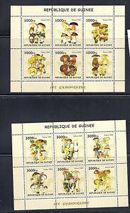 Guinea Funghi Champignons Souvenir Fogli VF MNH