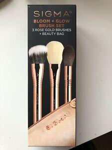 SIGMA Bloom & Glow Brush Set BNIB