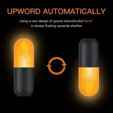 Burning Flicker Flame Effect Fire Light  LED With Gravity Sensor Decor Lamp