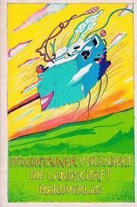"""CHARLES BUKOWSKI WM BURROUGHS JOHN FANTE """"DER CONTAINER"""" GERMAN ANTHOLOGY 1985"""