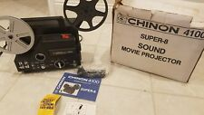 Chinon 4100 Super 8 SOUND Adjustable Speed Movie Projector
