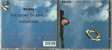 Out of Print - Like NEW CD - RUSH The Story of Kings - 1992 Interview - NO MUSIC