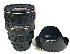 Nikon AF-S Nikkor 17-35mm f2.8 ED well used and motor noise but work