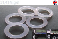 17mm OD  3.1mm CS O Rings Seal Silicone VMQ Sealing O-rings Washers