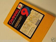 Fairchild Video Game System Cartridge Videocart 9 Drag Strip