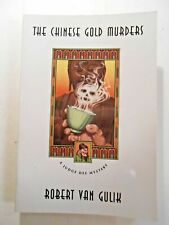 THE CHINESE GOLD MURDERS BY ROBERT VAN GULIK (PAPERBACK, 1979) CHICAGO PRESS ED.