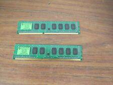 Lot of 2 x Centon (Elpida) 1GB DDR3 DIMM PC3-8500 1066Mhz Desktop Memory RAM 2Gb