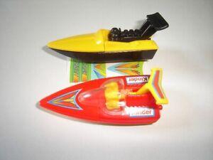 SPEEDBOATS 2002 MODEL BOATS & SHIPS SET - KINDER SURPRISE TOYS MINIATURES