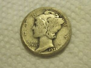 1921-D Mercury DIme(Key Date)