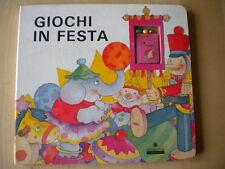 Giochi in festacon luci e suoni Legrand Panini 1994 IllustratoCartonato 45