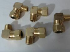 "New Brass Dot Compression Elbow Male 90° 5/8 x 3/4"" 5 Pack $78"