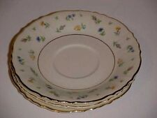 Syracuse Fine China Suazanne Patter G2305 Saucer Plate Set