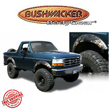 Bushwacker Black Extend-A Fender Flares Fits 1992-1996 Ford F150 F250 F350 4pc