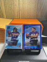 2018 Donruss Optic Hayden Hurst Rated Rookie And Blue Press Proof Lot Of 2!
