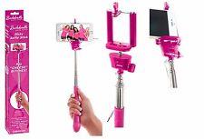 bastone per selfie stick asta telescopica allungabile con pulsante cellulare tel